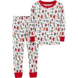 Carter's Toddler 2-Piece Christmas Pajama Set, 4T